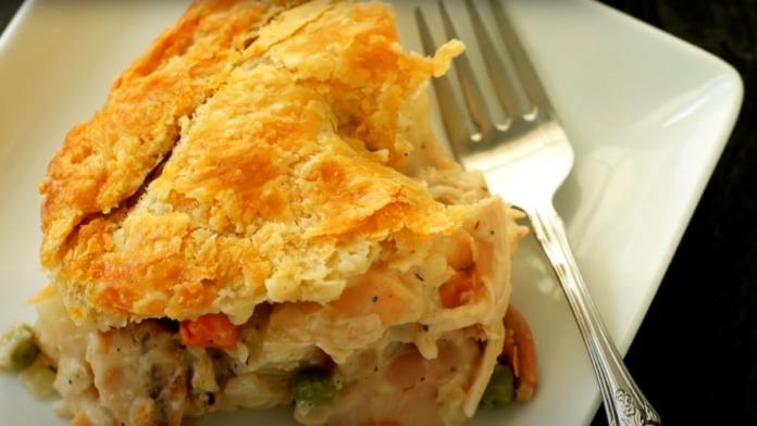 Chicken Potato Pot Pie