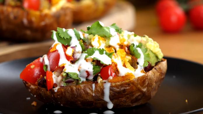 Taco Potato Skins