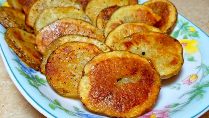 Crispy Potato Rounds