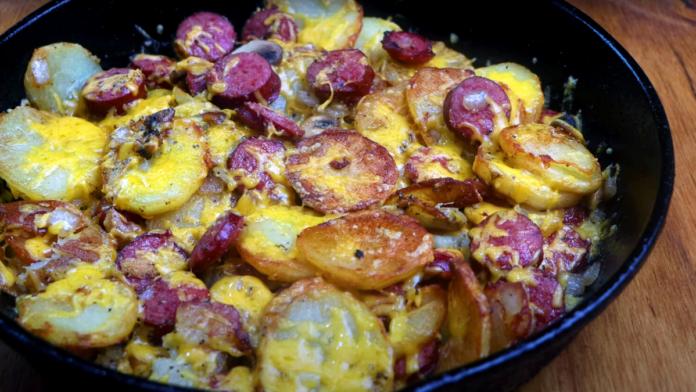 Sausage Scalloped Potatoes